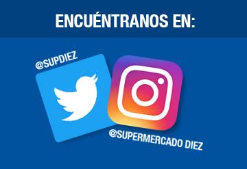 Redes sociales supermercado Diez