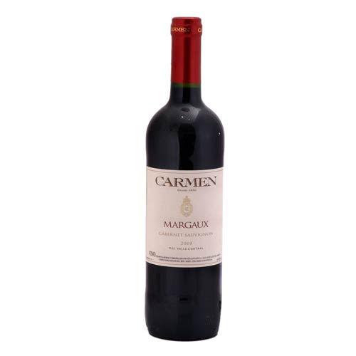Caja de 6 unidades Carmen Margaux Cabernet Suvignon ($1.990 c/u)