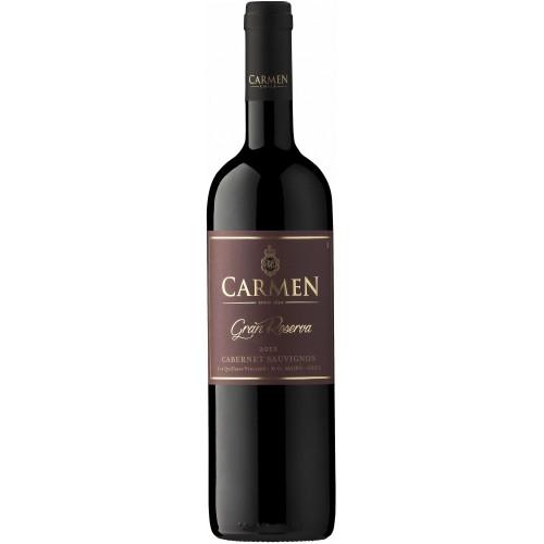 Caja de 6 unidades Carmen Gran Reserva Cabernet Sauvignon ($3.990 c/u)