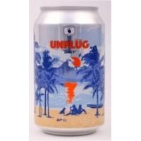 Caja de 24 unidades Cerveza UNPLUG ($390 c/u)