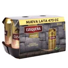 Caja de 24 unidades Cerveza Cusqueña 473 cc ( $581 c/u)