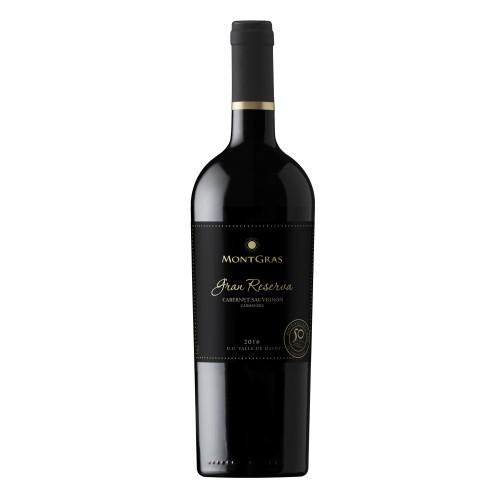 Caja de 6 unidades MontGras Gran Reserva Ensamblaje, vino exclusivo ($4.990 c/u)