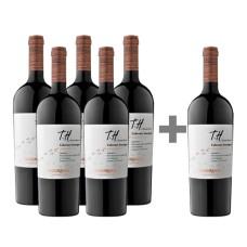 Caja 6 botellas Undurraga TH Cabernet Sauvignon 5*6 (PAGUE 5, LLEVE 6)