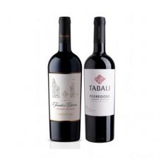 Pack 6 botellas Undurraga Founders Cabernet Sauvignon + 6 botellas Tabali Gran Reserva Cabernet Sauvignon