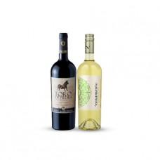 Pack 6 botellas Toro de Piedra Reserva Cabernet Sauvignon + 6 botellas Veramonte Sauvignon Blanc ($4.990 c/u)