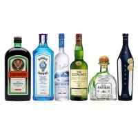 Bar, Jagermesiter + Gin Bombay + Vodka Grey Goose + Tequila Patron + Pisco Kappa