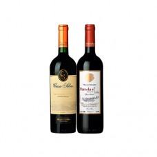 Pack 6 botellas Casa Silva Gran Reserva Carmenere + 6 botellas Von Siebenthal Parcela 7 (6.990 c/u)