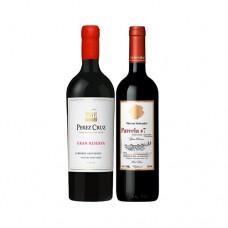 Pack 6 botellas Perez Cruz Gran Reserva Cabernet Sauvignon + 6 Parcela 7 Von Siebenthal
