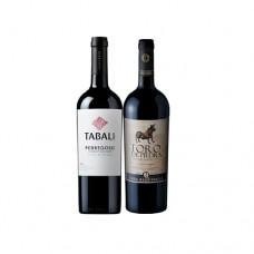 Pack 6 botellas Tabali Gran Reserva Cabernet Sauvignon + 6 Toro de Piedra Gran Reserva Cabernet Sauvignon ($5.990 c/u)