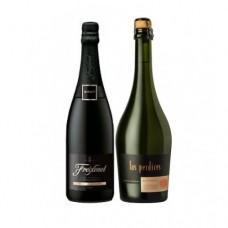 Pack 6 botellas Espumante Freixenet + 6 Espumantes Las Perdices Brut Nature ($5.990 c/u)