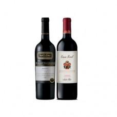 Pack 6 botellas Santa Ema Gran Reserva Merlot + 6 Casa Real Carmenere ($6.990 c/u)