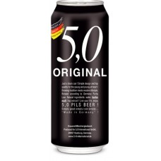 24 Cervezas Alemanas 5.0 Pils, 500cc ($579 c/u)
