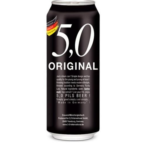24 Cervezas Alemanas 5.0 Pils, 500cc ($583 c/u)