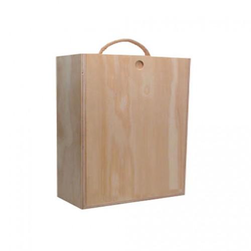 Caja 3 botellas madera - Cajas de madera para botellas ...