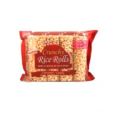 CRUNCHY  RICE ROLLS CANELA 80 GRS