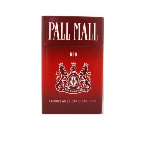 Cartón de 10 Unidades Caja de 10 Unidades  PALL MALL RED BLANDO 20 UNID.10ML.
