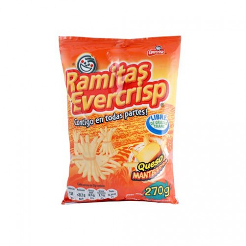 RAMITAS S/QUESO 270 GRS EVERCRISP