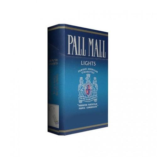 Cartón de 10 Unidades PALL MALL AZUL BOX 20 UNID.