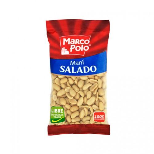 MANI SALADO MARCO POLO 100 GRS.