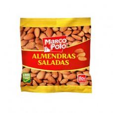 ALMENDRAS SALADAS 80 GR MARCO POLO