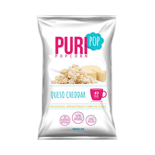 Puripop queso chedar 125