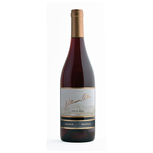 Caja de 6 unidades WILLIAM COLE MIRADOR PINOT NOIR