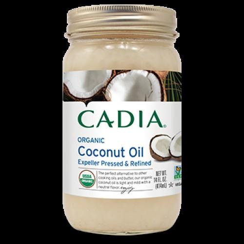 ACEITE DE COCO REFINADO CADIA 414 ML.