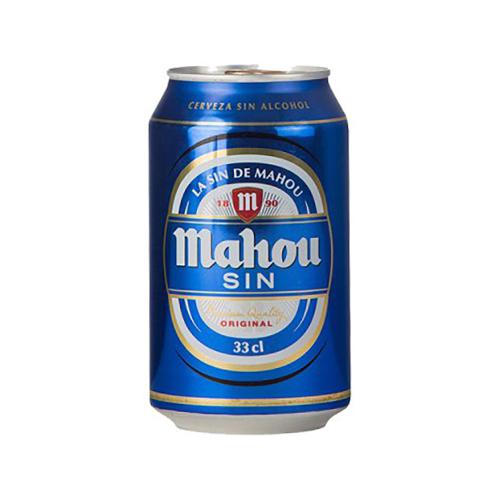Caja de 6 unidades MAHOU SIN/ALCOHOL 330ML