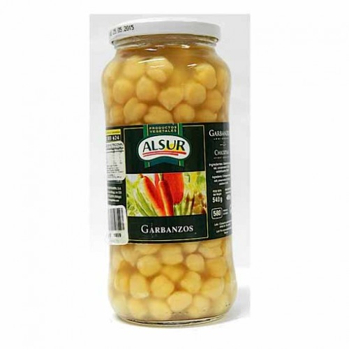GARBANZOS 540 GR