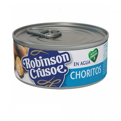 CHORITOS EN AGUA ROBINSON CRUSOE 190 GRS