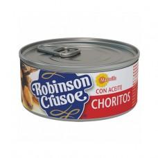 CHORITOS EN ACEITE  ROBINSON CRUSOE 190 GRS
