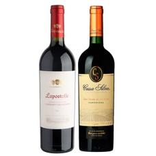 Pack 6 vinos Lapostolle Grand Seleccion Cabernet Sauvignon + 6 Casa Silva Gran Reserva Cabernet Sauvignon