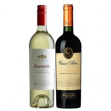 Pack 6 vinos Lapostolle Grand Seleccion Sauvignon Blanc + 6 Casa Silva Gran Reserva Cabernet Sauvignon