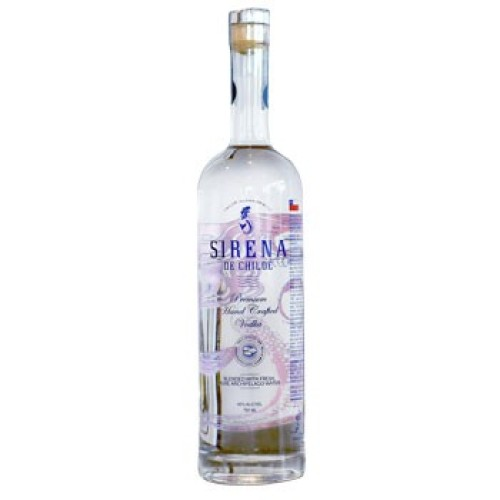 Vodka Sirena de Chiloé, Premium 750ml